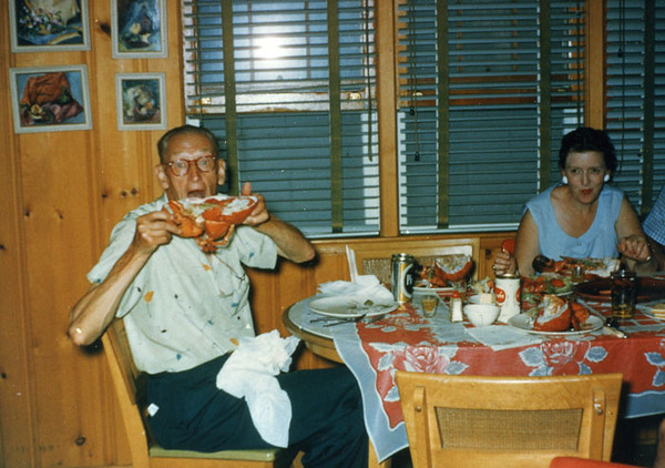 pop and lobster