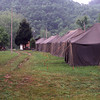 Tent Road at Gathright Camp