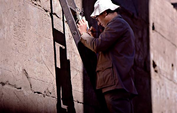 Egyptologist at Work