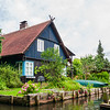 An Old Farmhouse in the Spreewald (Spree Woods) in East Germany
