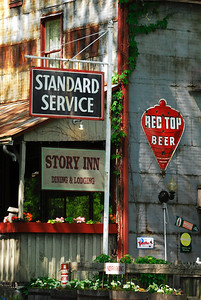 Dining and Lodging The Story Inn located in Story, Indiana