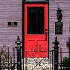 Red Door on Historic Home