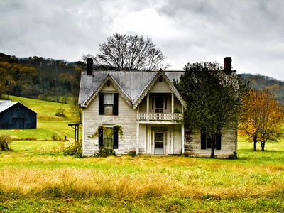 Old Farm House Kentucky Back Roads