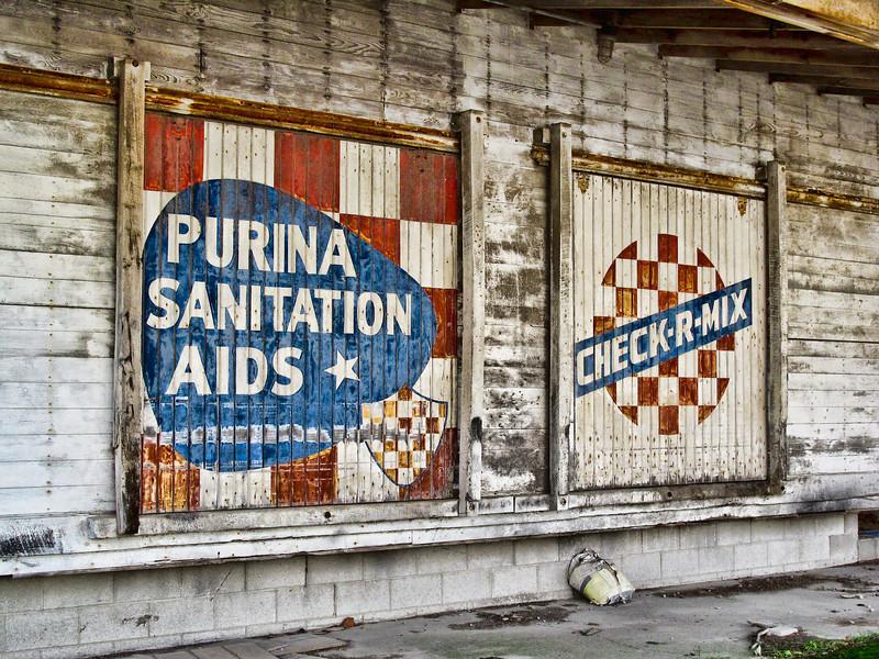Old Grain Elevator Doors<br /> Sycamore, Ohio