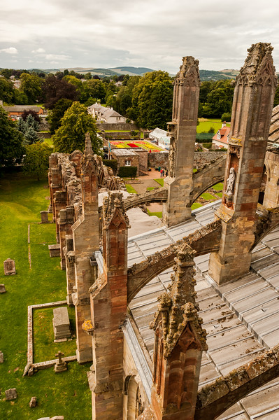 Melrose Abbey, Borders, Scotland