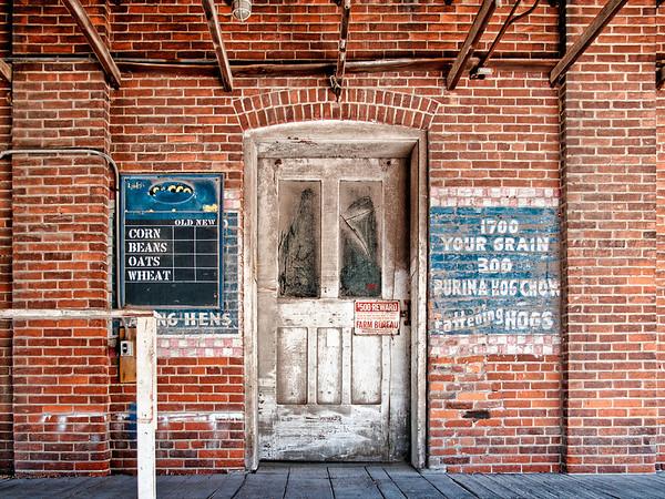 Old Grain Elevator Sycamore, Ohio