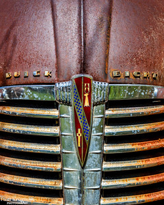 Buick Eight Hood Emblem