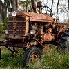Rusty Old International Harvester Tractor