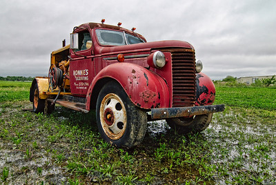 1938 Red Chevy Truck