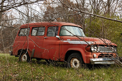 Old Dodge Utility Truck