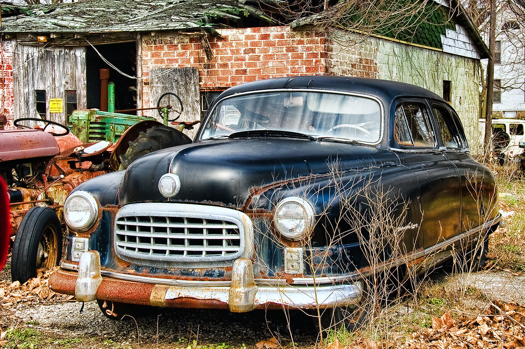 Old Cars,Trucks and Farm Equipment - CountryRoadsPhoto