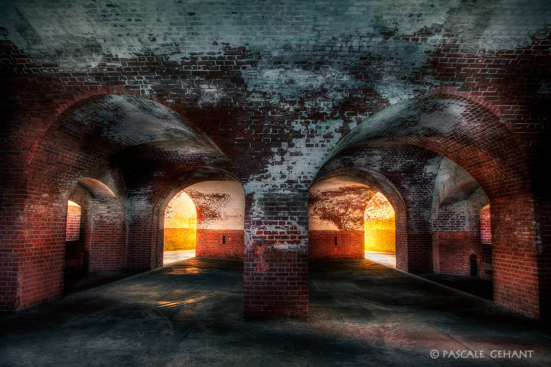 Vaulted room- Fort Point
