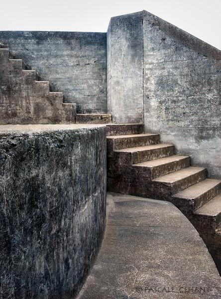 Stairs- Chamberlain Battery