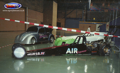 Terry's, the Speedster and Air Express VW Drag Racing