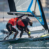 Day 2 of the 49er Europeans Porto 2015