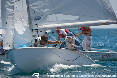 Day 1 at the EUROSAF Youth Sailing - European Championship