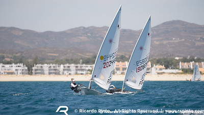 Day 2 at the EUROSAF Youth Sailing - European Championship