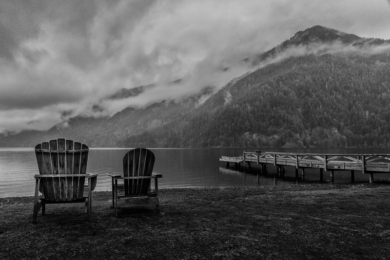 Just Waiting for Sun, Lake Crescent