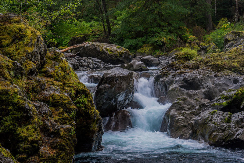 Salmon Cascades, Lower Portion