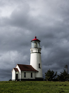 Cape Blanco Lighthouse During a Clearing Storm