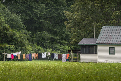 Hanging Clothes to Dry in the Rain–The Ultimate Optimist!