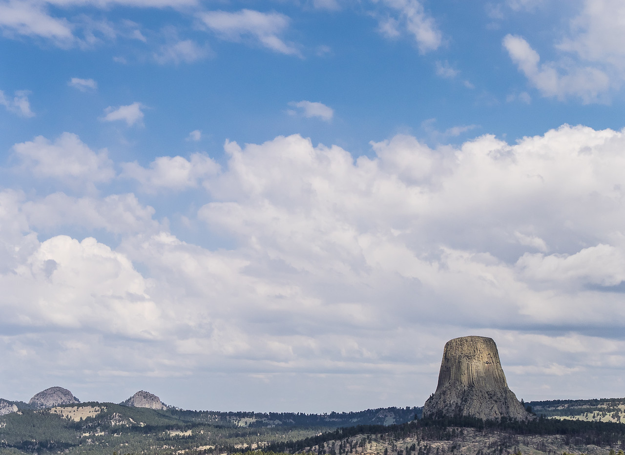 Devil's Tower National Monument in Context with its Surroundings