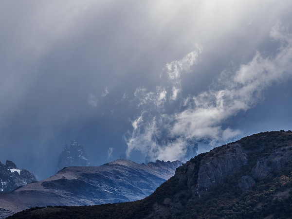 Weather changes quick in Patagonia