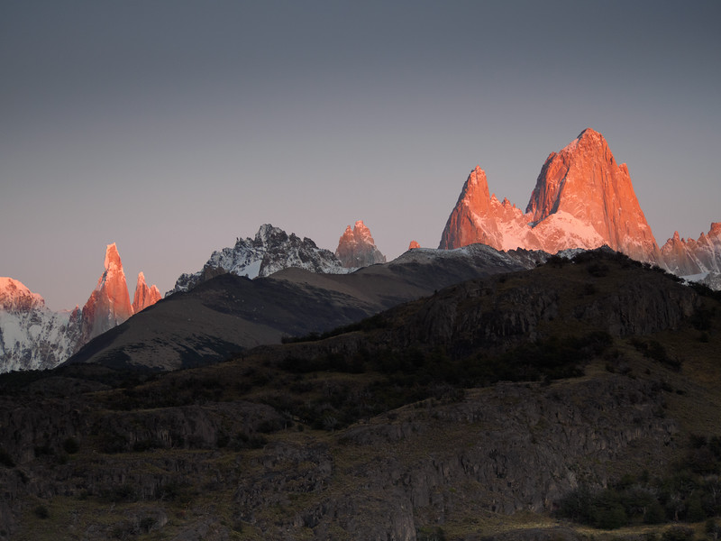 Mount Fitz Roy and Cerro Torre