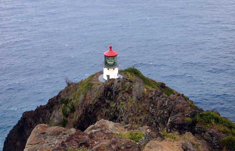 Makapu Lighthouse.