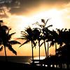 Hawaiian Sunset. Leeward Side.