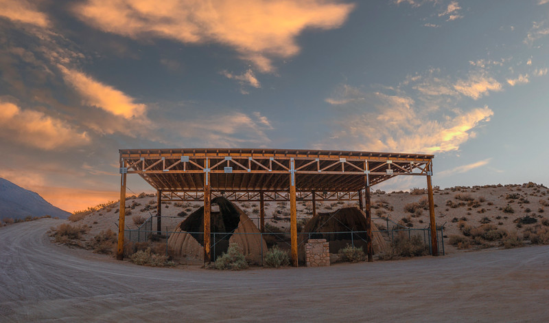The Cottonwood Kilns were used to make charcoal for silver extraction at the mills across Owens Lake.  The silver was then shipped across the lake and taken by railroad to Los Angeles.
