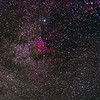 North American nebula, this is about a third of the way from the left of the panorama.