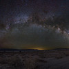 Milky Way Arch over Owens Lake.