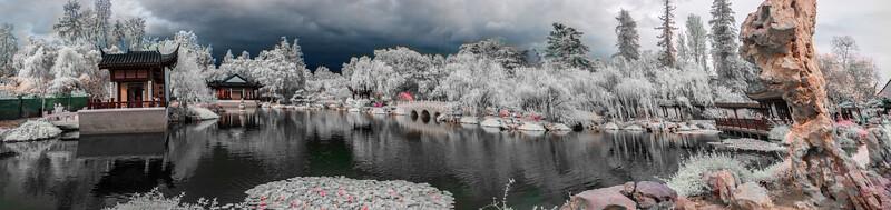 Chinese Garden Panorama.