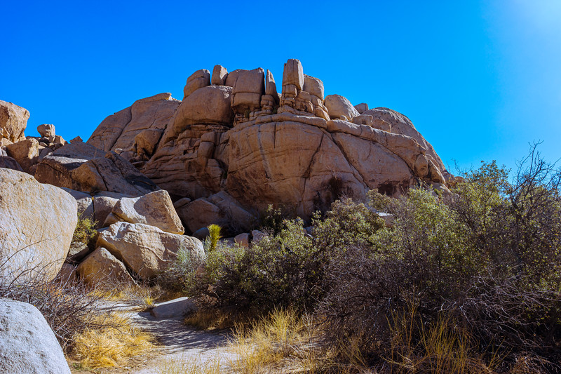 Another rock formation, is this why they call this part of the park 'Wonderland of Rocks'?