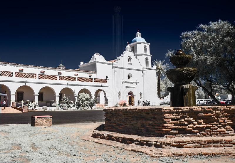 Mission San Luis Rey(Infrared)