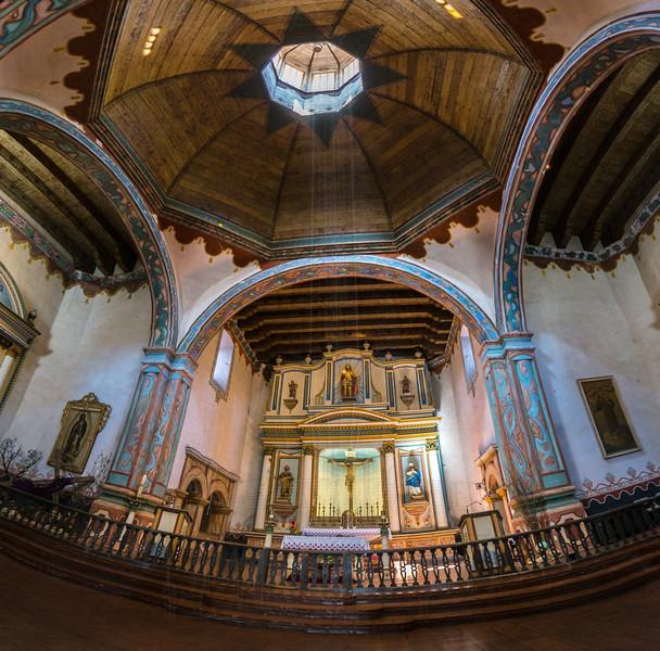 Mission Chapel Interior