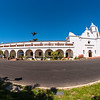 Wide shot of Mission San Luis Rey