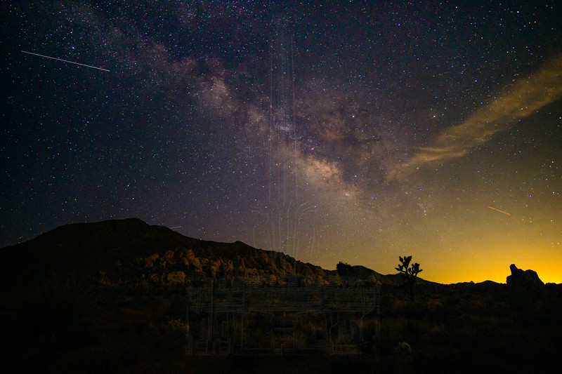 Milky Way well after sunset.