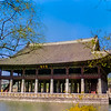 Gyeonghoeru Pavilion with lake.