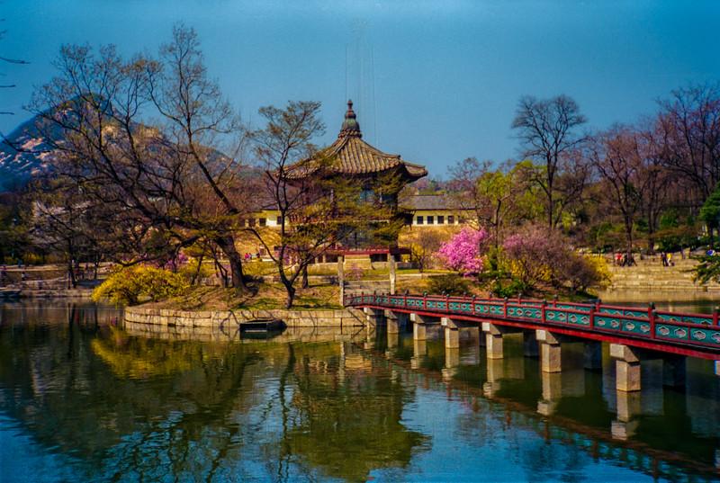Hyangwonji Pond and Hyangwonjeong Pavilion