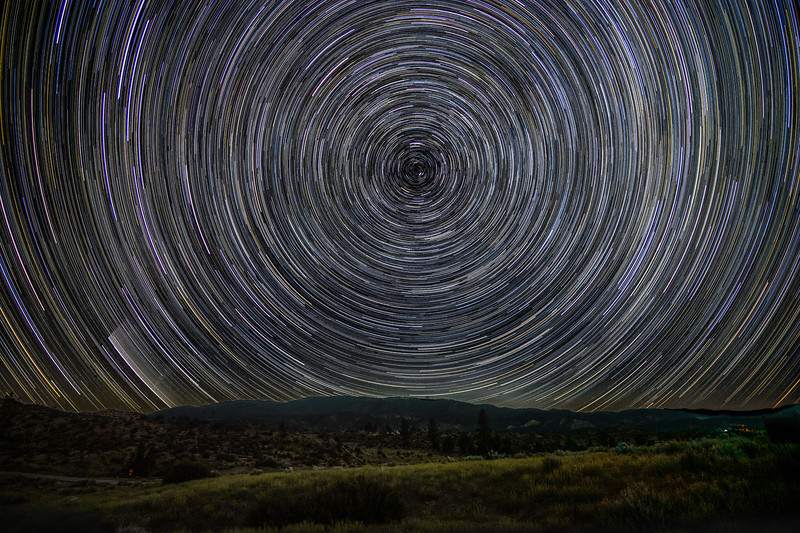 Star Trails, Lockwood Valley.