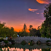 Sunset at the Chinese Garden