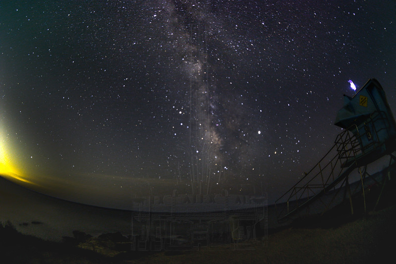 Milky Way at Sequit Point