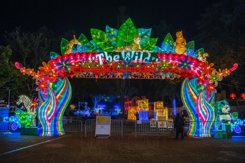 Chinese Lantern Festival Entrance.