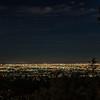 LA at night.