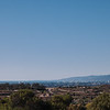 Looking in the other direction towards Santa Monica, the land mass extending out from the coast is Point Dume in Malibu.