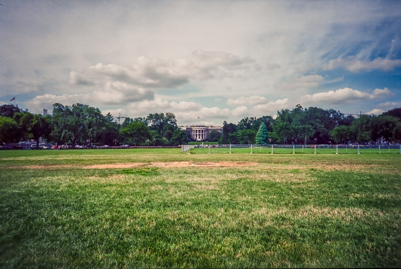 The White House from the Ellipse.
