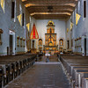 Mission San Diego Chapel Interior.