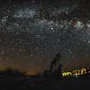 The Milky Way from Zzyzx(fisheye).